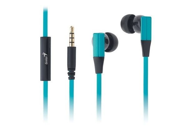 Genius In-Ear Earphones with Microphone Instantly switch between calls and music
