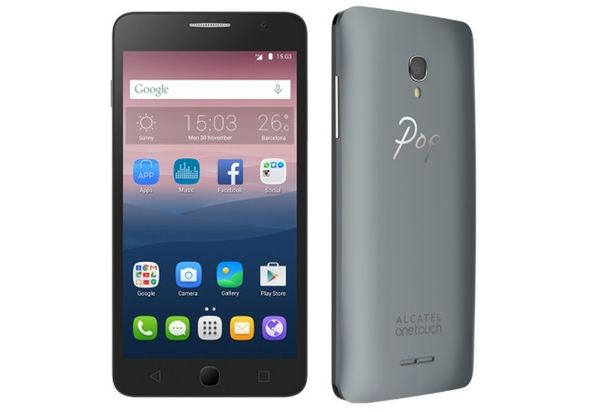 Alcatel Onetouch Pop Star Smartphone, Silver