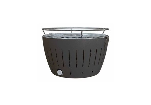 LotusGrill Smokeless Charcoal Grill,  green
