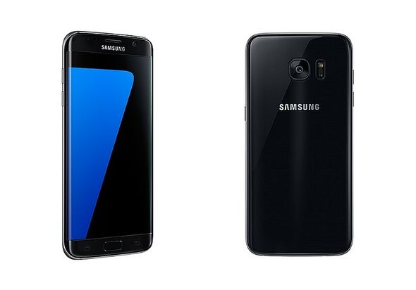 Samsung Galaxy S7 Edge Smartphone, 32 GB, Black Onyx