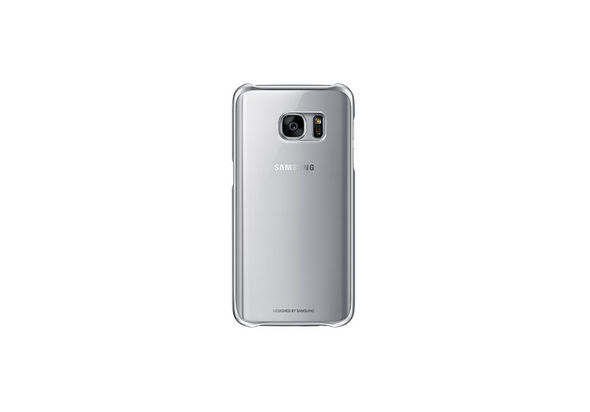 Samsung Galaxy S7 Clear Back Cover Silver