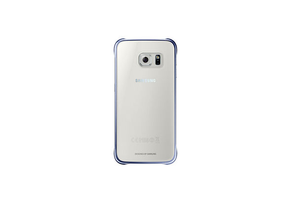 Samsung Galaxy S6 Clear Cover, Black