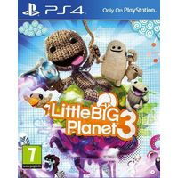Little Big Planet 3 and Driveclub for PS4