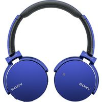 Sony XB650BT Extra Bass Bluetooth Headphones, Blue