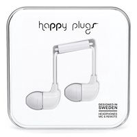 Happy Plugs 7726 In-Ear Headphones White