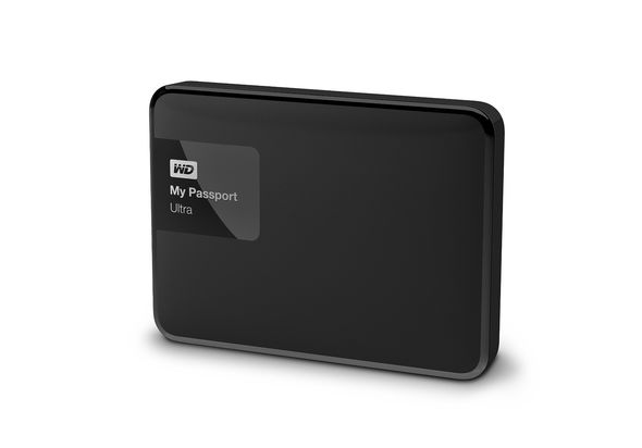 WD My Passport Ultra 1TB Portable External Hard Drive, Black
