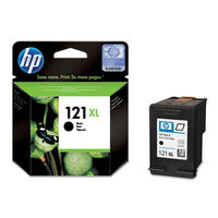 HP CC641HE 121XL High Yield Black Original Ink Cartridge