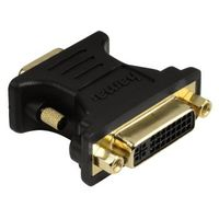 Hama VGA DVI Adapter, VGA plug - DVI socket, gold-plated, shielded