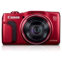 Canon PowerShot SX710 HS - 20.3 MP, Digital Camera, Red,  black