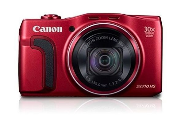 Canon PowerShot SX710 HS - 20.3 MP, Digital Camera, Red,  red