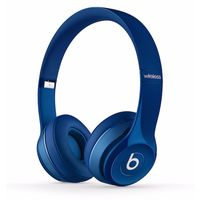 Beats Solo2 On-Ear Headphones, Gloss Blue