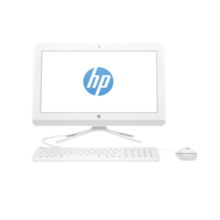 "HP 22-B041NE All-in-One i3 4GB 1TB 21.5"" Desktop, White"
