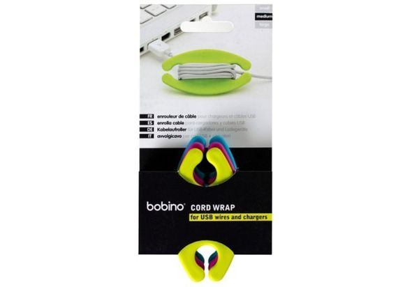 Bobino BM3AF Medium Cord Wrap 3pcs Assorted Colour