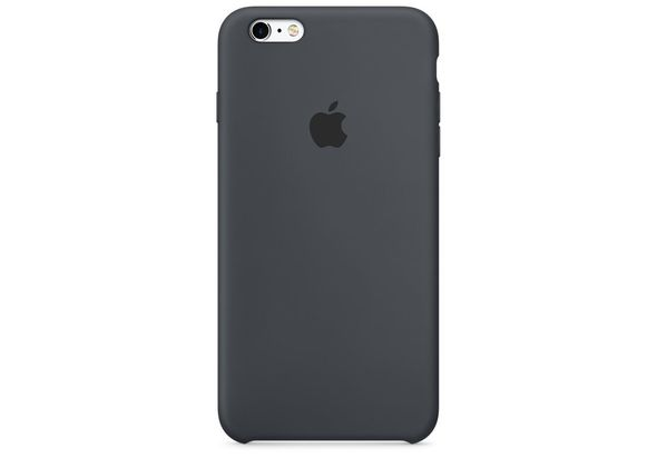 Apple iPhone 6s Plus Silicone Case, Charcoal Gray