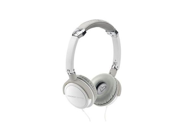 Energy System Headphones EnergyTM DJ 410 White with Microphone