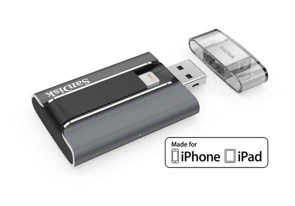 SanDisk iXpand 16GB USB 2.0 Mobile Flash Drive
