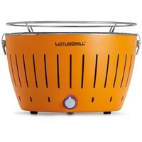 LotusGrill Smokeless Charcoal Grill, Orange