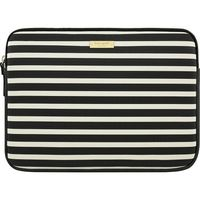 "Kate Spade New York Sleeve for 13"" Apple MacBook, Fairmont Square Black/Cream"