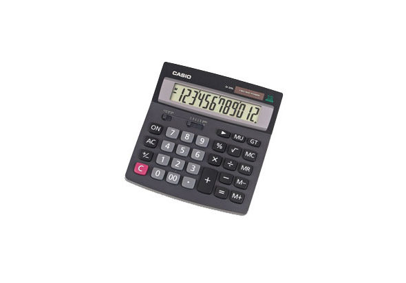 Casio D-20L Desk-Top Type Calculator