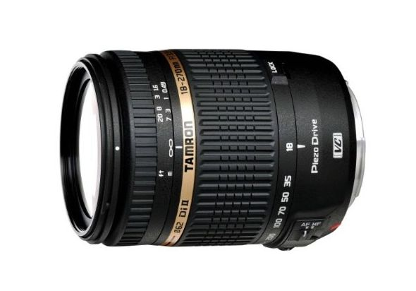 Tamron AF 18-270mm f/3.5-6.3 VC PZD All-In-One Zoom Lens with Built in Motor for Nikon DSLR Cameras