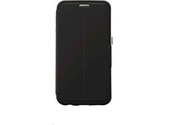Otterbox Strada for Samsung Galaxy S6, Black Leather