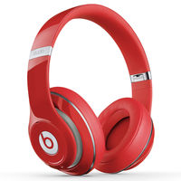 Beats Studio Over-Ear Headphones, Red