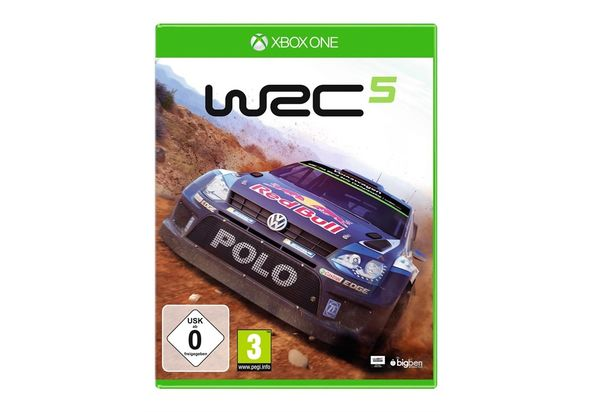 World Rally Championship 5 for Xbox1