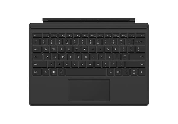 Microsoft s Surface Pro 4 Type Cover, Black