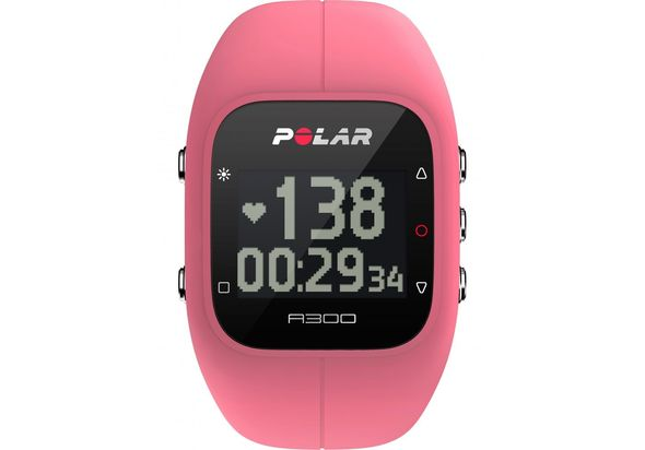 Polar A300 Fitness Watch, Pink