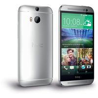 HTC One M8 EYE Smartphone, Silver