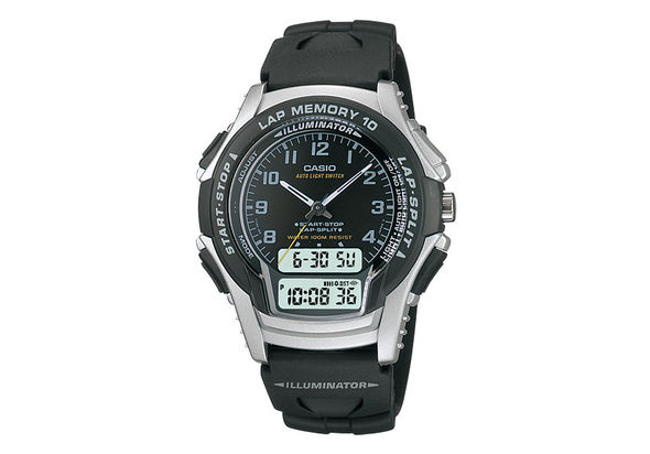Casio WS-300-1B Watch