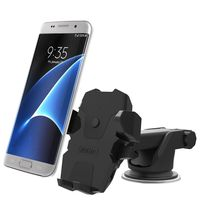 iOttie Easy One Touch Wireless Qi Standard Car Mount Charger, Black