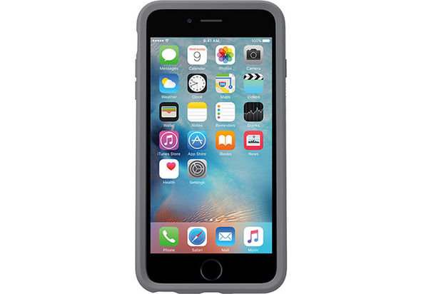Otterbox Symmetry Series Clear Case for iPhone 6/6s, Grey Crystal