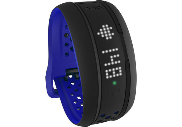 Mio Global FUSE Heart Rate Monitor and Activity Tracker Wristband Large, Cobalt