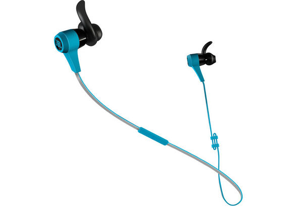 JBL Synchros Reflect BT Bluetooth Sports In-Ear Headphones, Blue