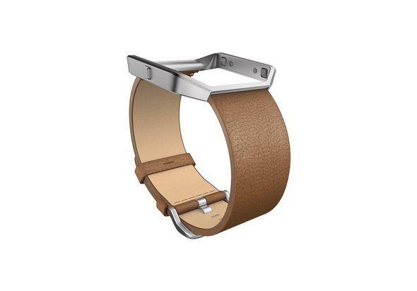 Fitbit Blaze Accessories Leather Band+ Frame Small, Camel