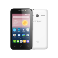 "Alcatel PIXI 4 8GB 5"" Smartphone LTE, White"