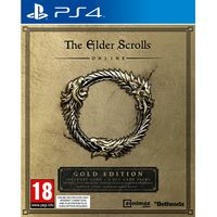 The elder scrolls online gold edition for PS4