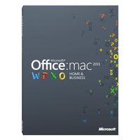 Microsoft Office W6F-00235 Mac Home & Business 2011
