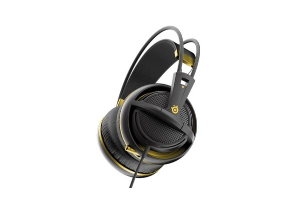 Steel Series Siberia 200 Gaming Headset, Alchemy Gold