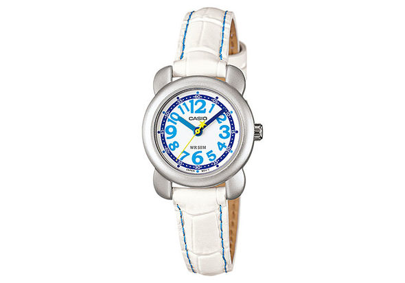 Casio LTR-18L-7B-R Analog Genuine Leather Strap Watch for Women