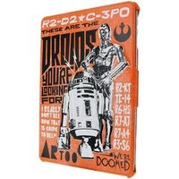 Star Wars iPad Air 1&2 Clip on Folio Tablet Case Droids/R2-D2/C-3P0 designa