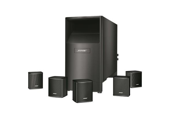 Bose Acoustimass 6 Series V Home Theater Speaker System, Black