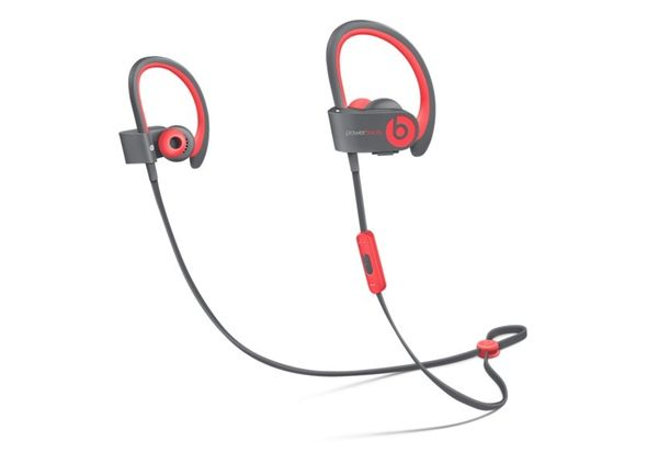 Beats Powerbeats 2 Wireless In-Ear Headphones, Red