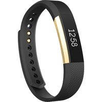 Fitbit Alta Gold Series Activity Tracker Small, Black/Gold