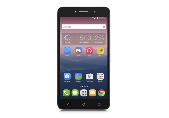 Alcatel Onetouch 8050D Pixi 4 Smartphone, Silver