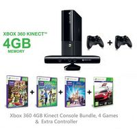 Xbox 360 4GB Console, 5 Games & Wireless Controller Bundle