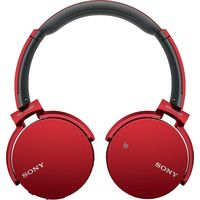 Sony XB650BT Extra Bass Bluetooth Headphones, Red