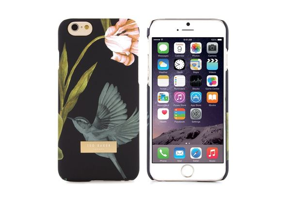 Proporta Ted Baker Soft-Feel Back Shell AW15 Apple iPhone 6 / 6S, Black
