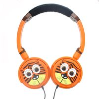 TabZoo SoundBites Children's Headphones, Tiger